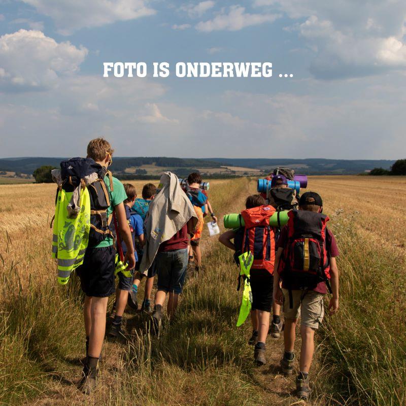 Piketzak upcycling Scouts en Gidsen Vlaanderen