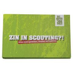 Zin in scouting?!