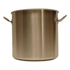 Pot + deksel inox 32 X 27 cm/ 22 l