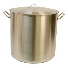 Pot + deksel inox 50 x 50 cm / 98 l