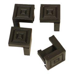 Set van 4 beschermdoppen voor tafel of bank