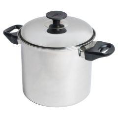 Pot + deksel inox 18 x 17 cm / 4,3 l