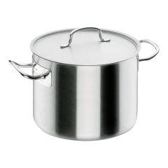 Pot + deksel inox 24 x 14 cm / 6,5 l