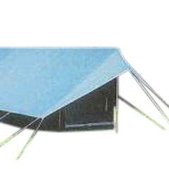 Patrouilletent met luifel 6x4 Alpino - groepsaankoop - 16m²
