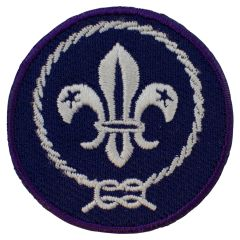 Internationaal kenteken scouts 4 cm