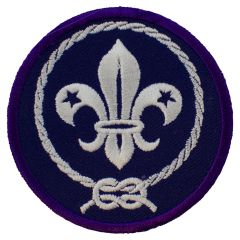 Internationaal kenteken scouts 7cm