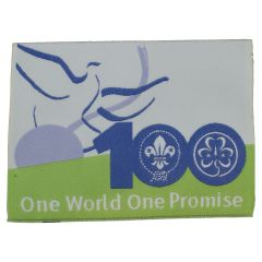 Jaarkenteken One world one promise '06-'07