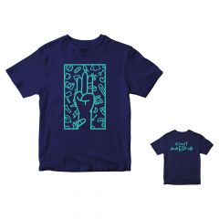 T-shirt Scoutmoedig kindermaat