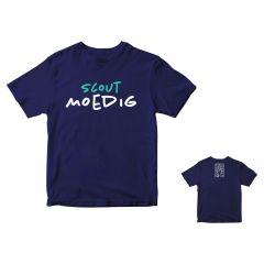 T-shirt Scoutmoedig heren