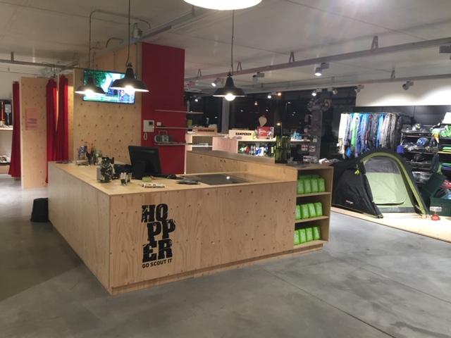 Terug welkom in de zes Hopper-winkels