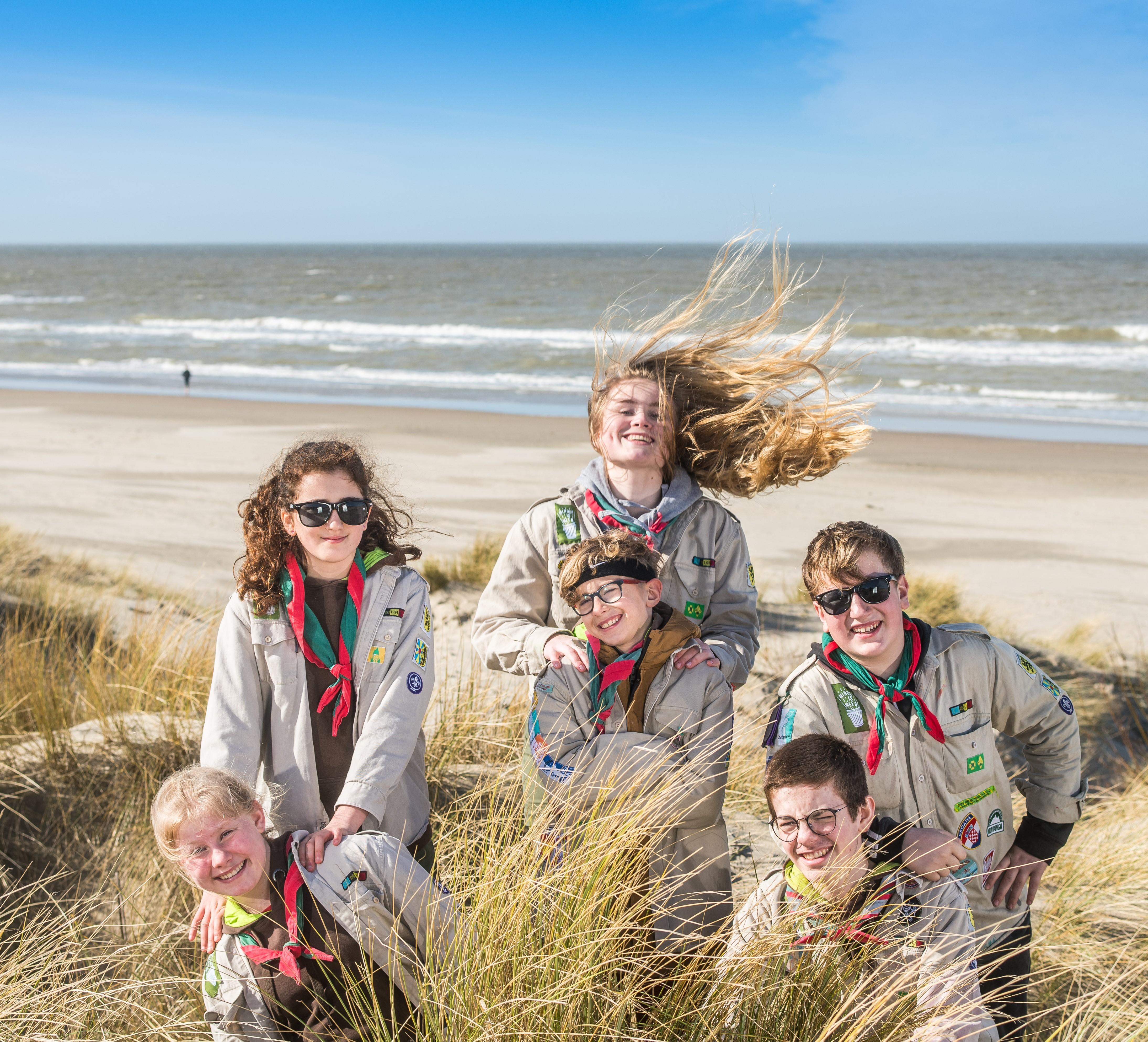 Een jaarthema dat uitdaagt: Scoutmoedig