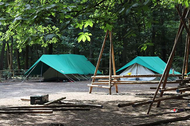 De Hopper groepsaankoop tenten is gestart