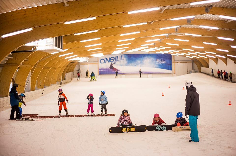Nieuw: sneeuwklassen op de Winner