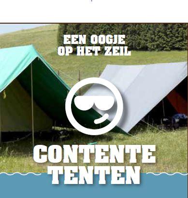 Contente tenten - onderhoud van je tent