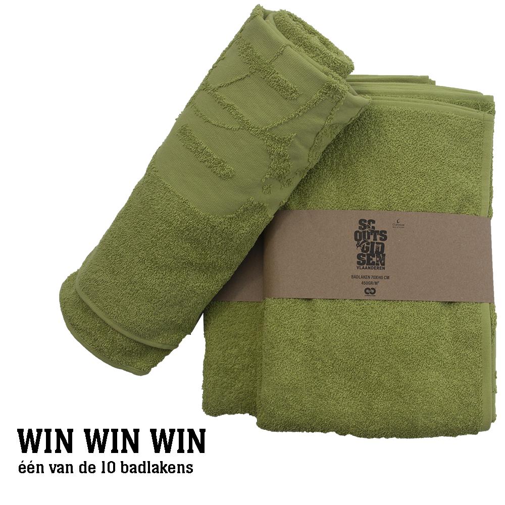 Win een handdoek