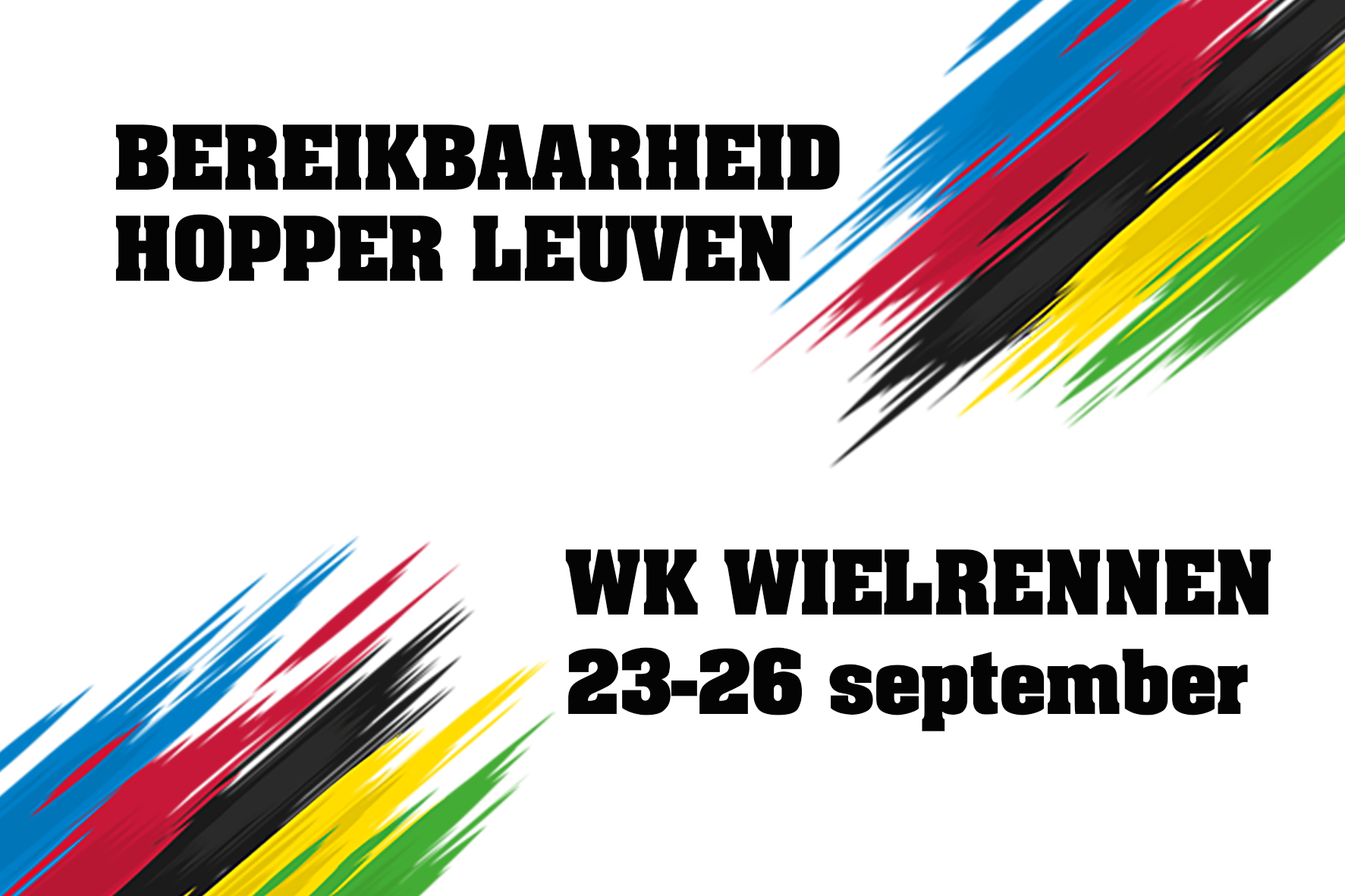 WK Wielrennen Leuven 23-26 september